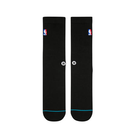 STANCE NBA LOGOMAN CREW BLACK