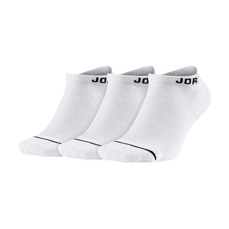 ジョーダン JUMPMAN ノーショウソックス 3P WHITE