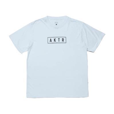 AKTR LOGO SPORTS TEE WHITE