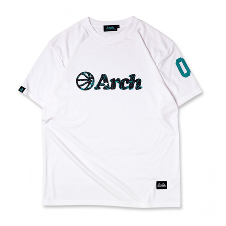 Arch nervure tee WHITE [DRY]