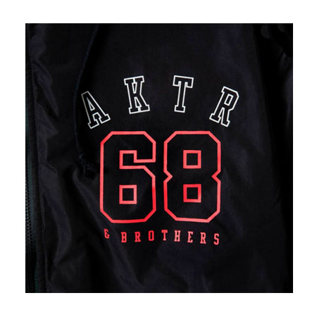 AKTR×68 23+45 WARM UP JACKET BLACK