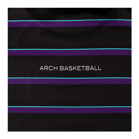 Arch border tee BLACK [DRY]