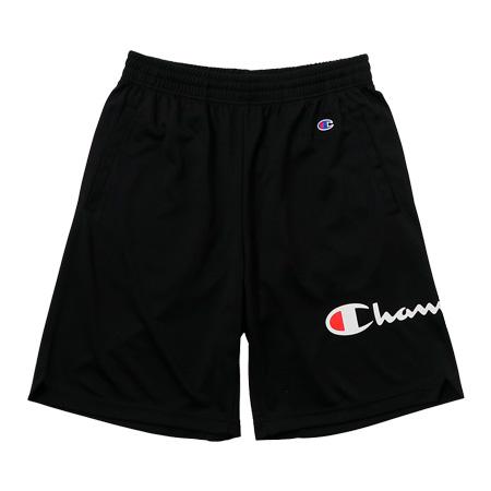 チャンピオン PRACTICE SHORTS BLACK