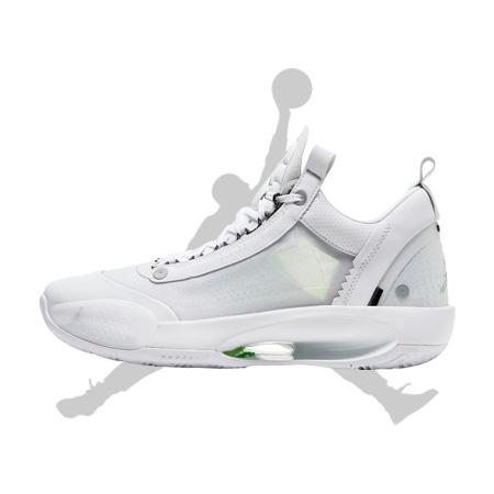 エアジョーダン34 LOW WHITE