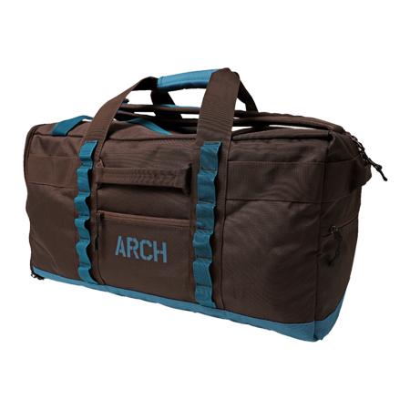Arch tour duffel bag BROWN