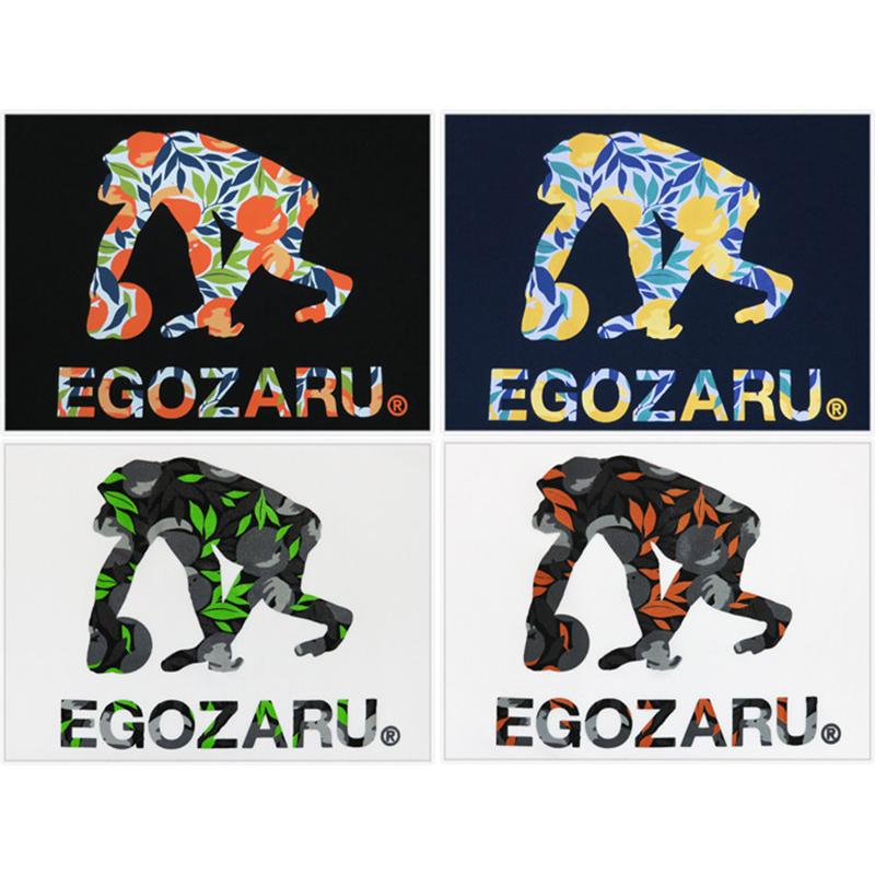 EGOZARU/エゴザル 別注 ピーチボタニカルロゴ Tシャツ (エイコーオリジナル)