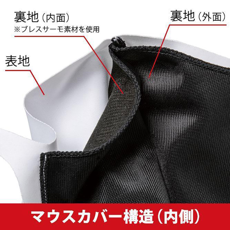 ミズノ ブレスサーモ マウスカバー / マスク (C2JY0621)