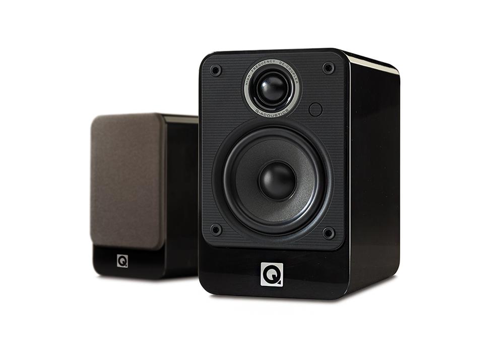 Q-Acoustics - 2010i/グロス・ブラック(ペア・ブックシェルフ型 スピーカー・逸品館限定価格)《e》【在庫有り即納】