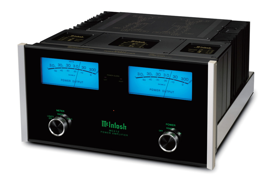 McIntosh - MC312(ステレオパワーアンプ){大型ELE}《e》【メーカー取寄商品・納期を確認後、ご連絡いたします】