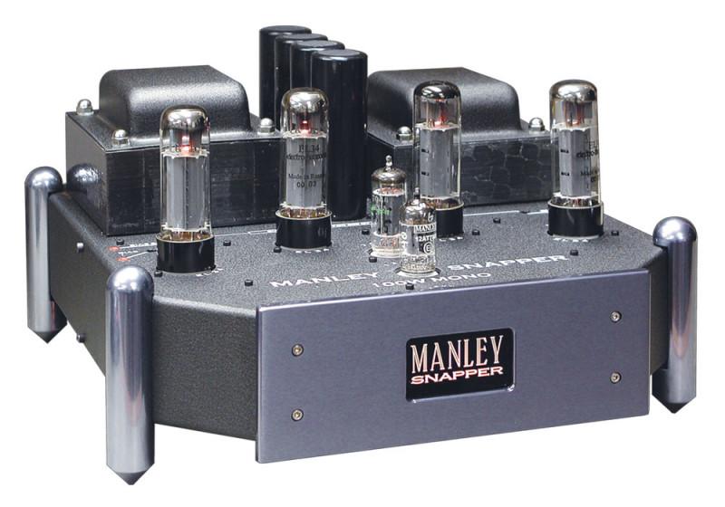 MANLEY - SNAPPER(真空管モノラルパワーアンプ・ペア・国内正規品)【台数限定・円高還元特価品】《e》【在庫有り即納】