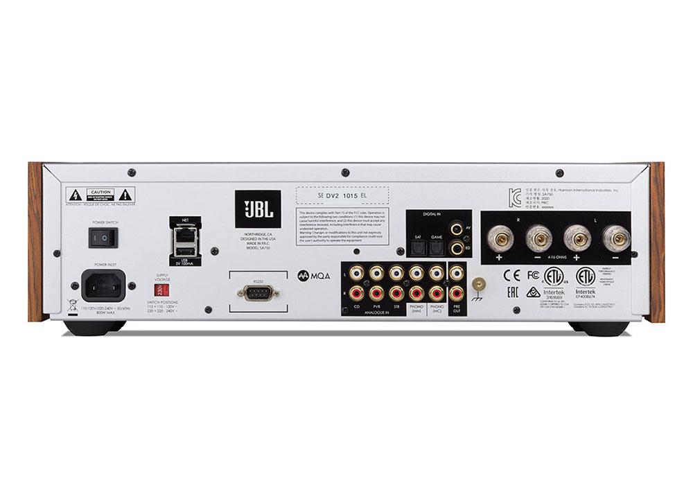 JBL - SA750(ネットワーク・USB/DAC内蔵インテグレーテッドアンプ)《e》【11月発売初回分完売・次回納期未定・ご予約受付中】