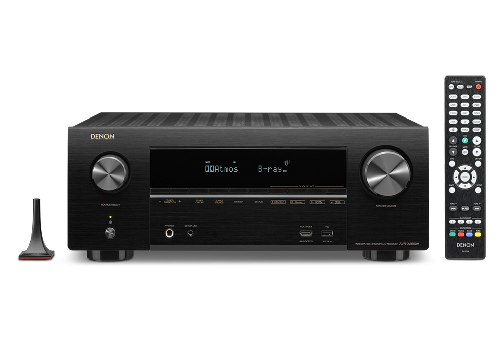 DENON - AVR-X2600H/K(7.2ch・AVサラウンドレシーバー)《e》【完売】