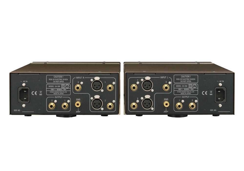 Phasemation - EA-550(MM/MC対応フォノアンプ)《e》【在庫有り即納】