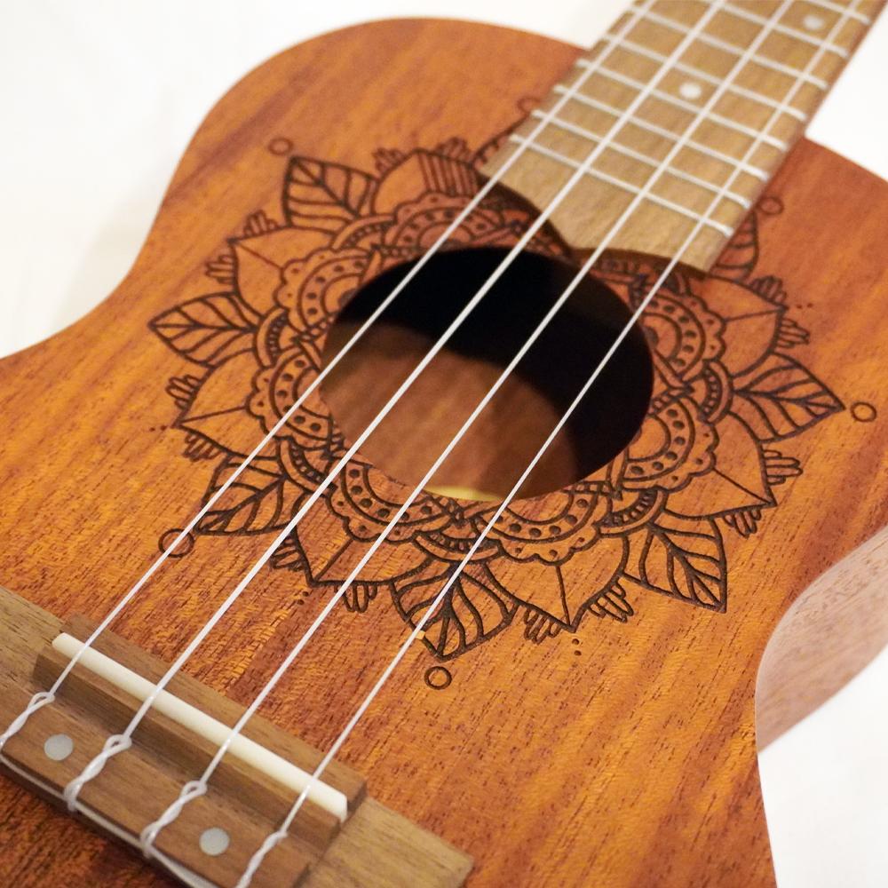 Bamboo Ukulele - Kailua コンサートウクレレ BU-23KAI(ソフトケース付属)《e》【メーカー直送品・1〜2営業日でお届け可能です※メーカー休業日除く】
