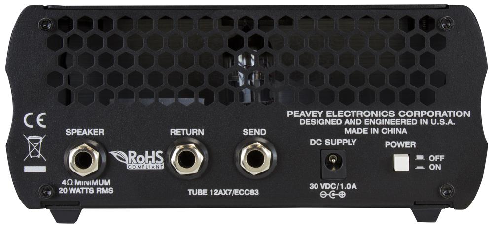 Peavey - 6505 Piranha Head 20W(ギターアンプヘッドキャビネットセット)《e》【メーカー直送品・1〜2営業日でお届け可能です※メーカー休業日除く】