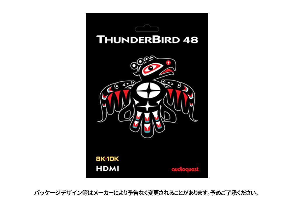 audioquest - HDMI ThunderBird48/1.0m(THU48G/1M)(48Gbps・8K対応・HDMIケーブル)《e》【在庫有り即納】