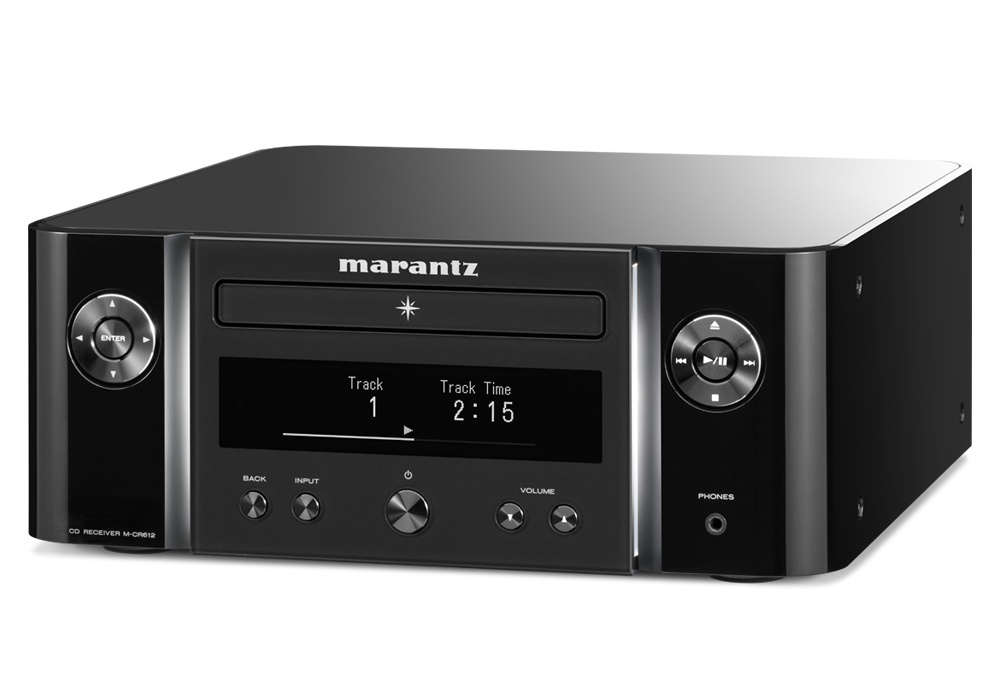 marantz - M-CR612/ブラック(ネットワークCDレシーバー)《e》【在庫有り即納】