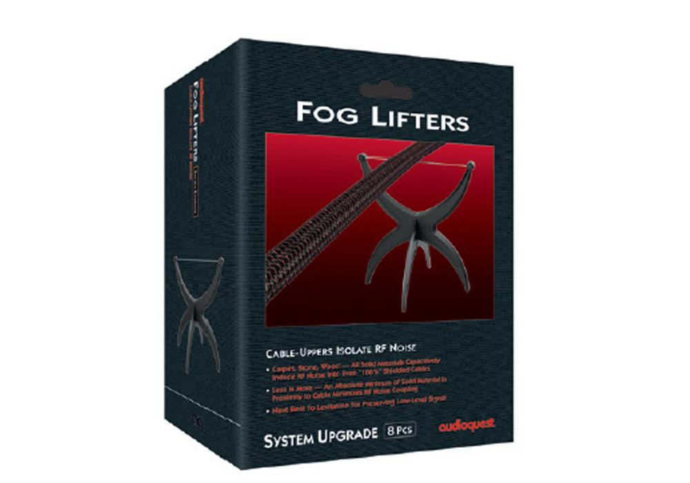 audioquest - Fog/Lifters(8個入・ケーブルインシュレーター)《e》【在庫有り即納】