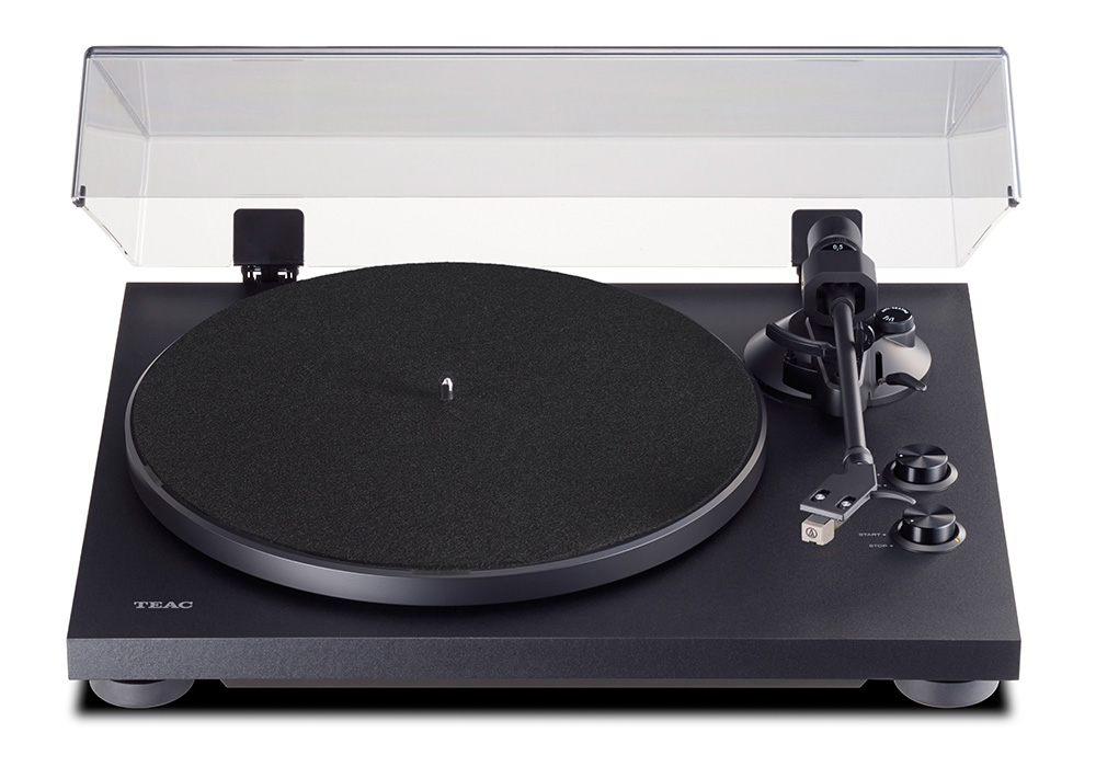 TEAC - TN-280BT/ブラック(TN-280BT-A3)(Bluetoothトランスミッター搭載・アナログターンテーブル)《e》【次回納期未定・ご予約受付中】