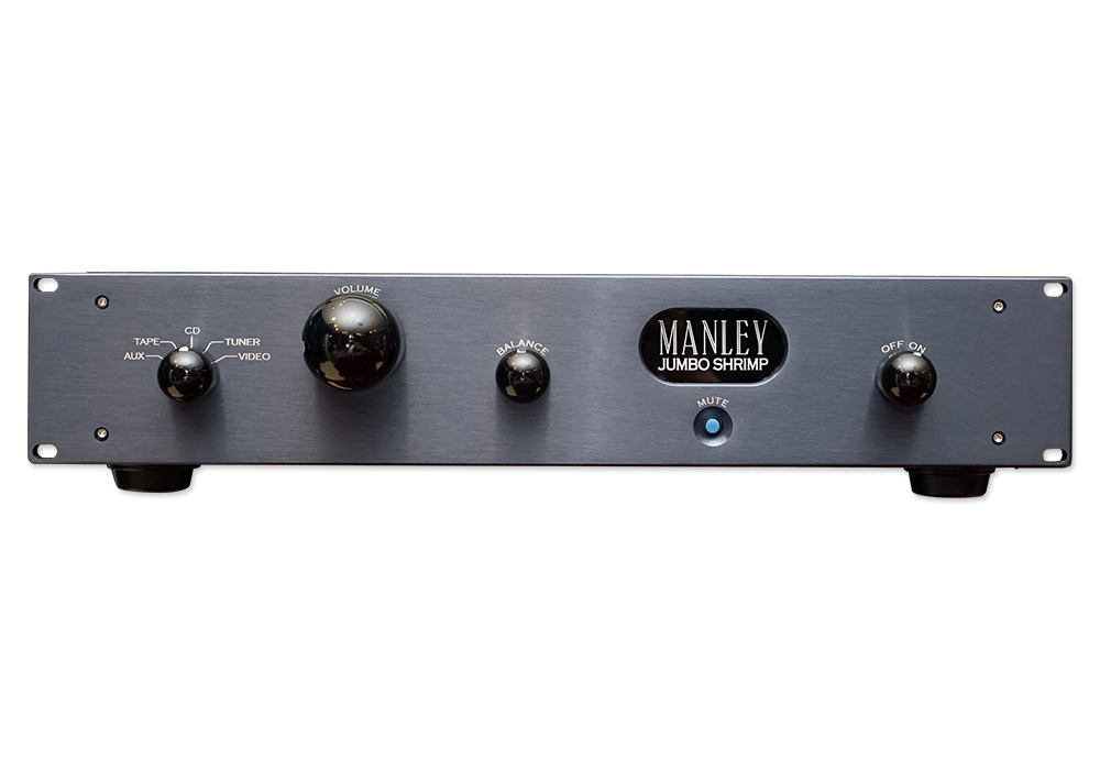 MANLEY - JUMBO SHRIMP(真空管プリアンプ・国内正規品)《e》【在庫有り即納】