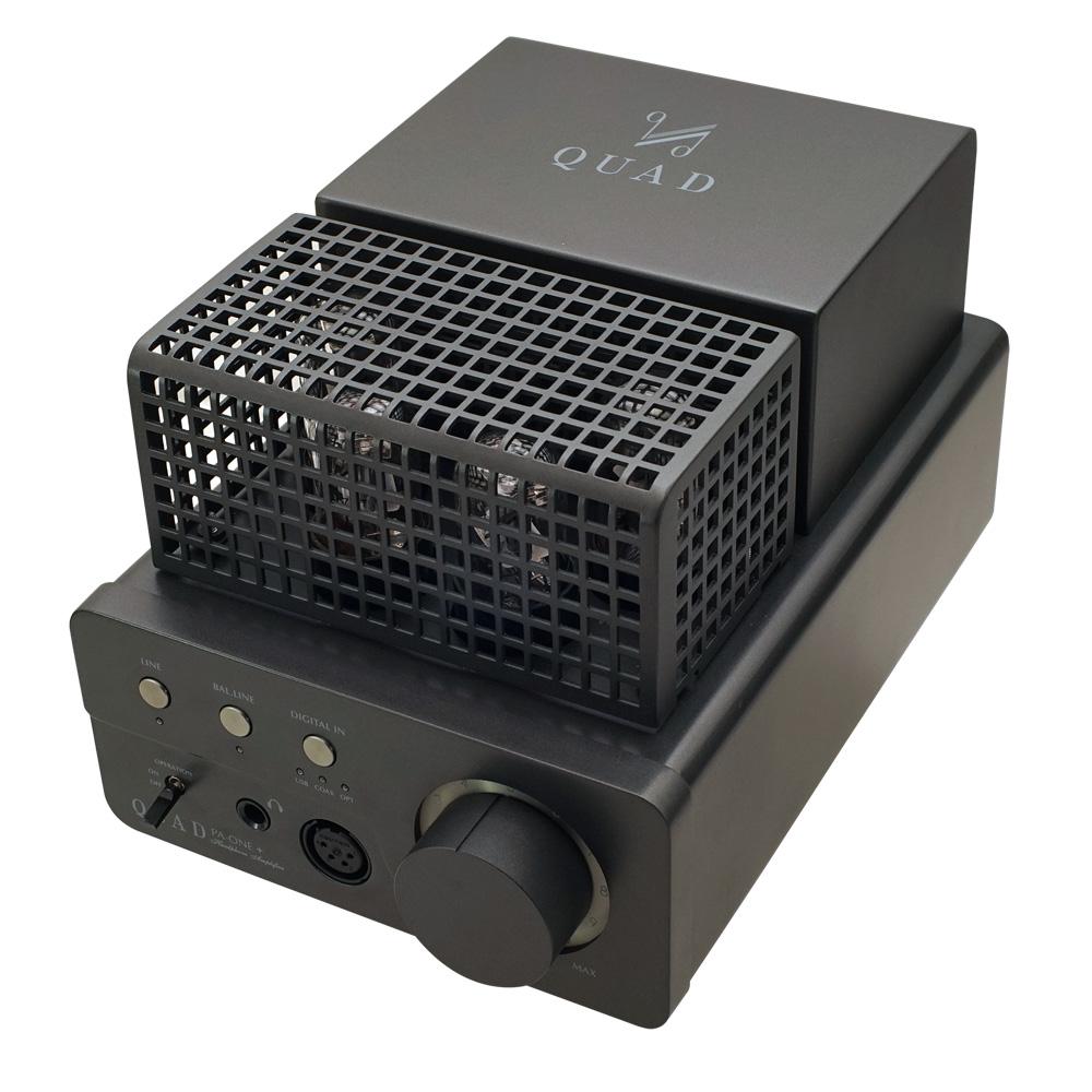 QUAD - PA-ONE+(プラス)(USB/DAC搭載・真空管ヘッドホンアンプ)《e》【メーカー在庫有り即納】