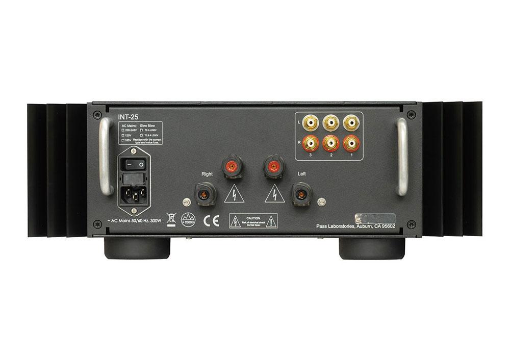 PASS - INT-25(プリメインアンプ)《e》【メーカー取寄商品・納期を確認後、ご連絡いたします】