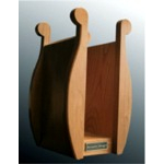 Acoustic-Design - AD-HPS01WN(ヘッドホンスタンド/ウォールナット仕上げ)《e》【メーカー直送品(代引不可)・5〜10日でお届け可能です※メーカー休業日除く】