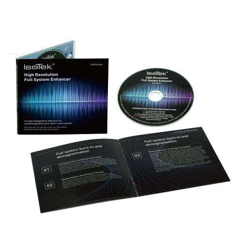 IsoTek - HIGH RESOLUTION FULL SYSTEM ENHANSER 2ND EDITION(バーンイン用CD)《e》【在庫有り即納】