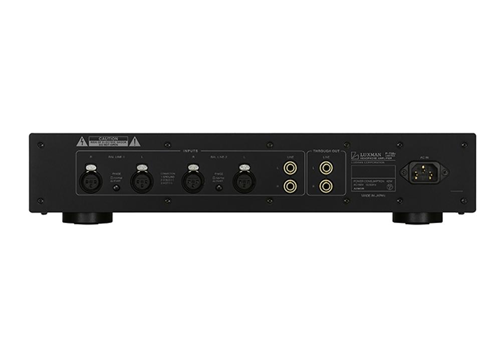 LUXMAN - P-750u Limited(ヘッドフォンアンプ)(LUXMAN95周年記念・100台限定生産モデル)《e》【在庫有り即納】