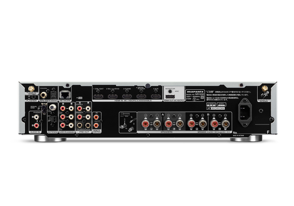 marantz - NR1200(HDMI入力搭載・ネットワーク・ステレオレシーバー)《e》【次回3月6日入荷予定・ご予約受付中】