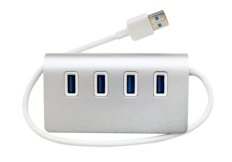 AIRBOW - USB-HUB34(MBNシリーズ専用USB拡張ハブ/USB3.0・4ポート)《e》