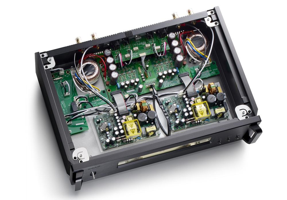 TEAC - AP-701-S/シルバー(ステレオ・パワーアンプ)《e》【在庫有り即納】