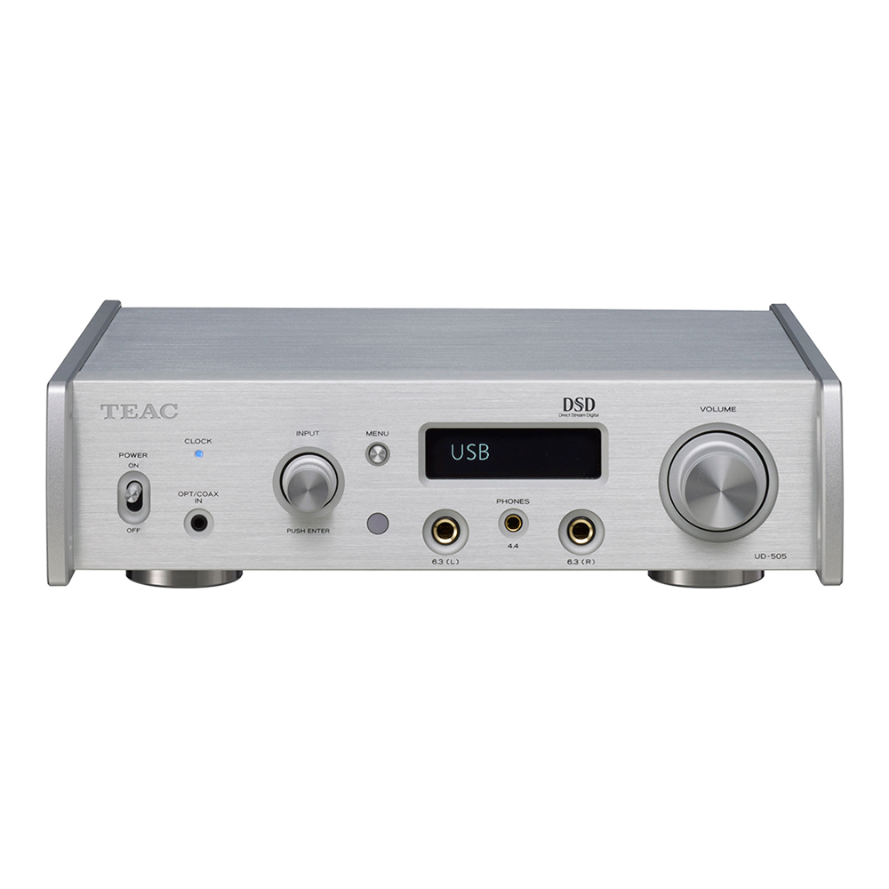 TEAC - UD-505-X(シルバー)(USB DAC・ヘッドホンアンプ)《e》【在庫有り即納】