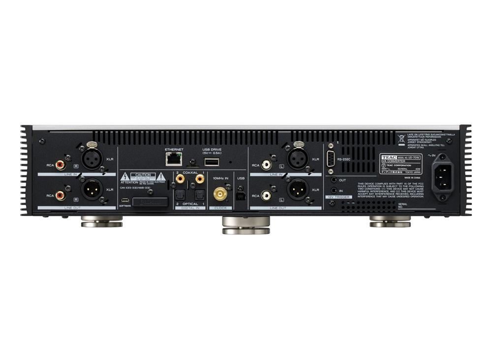 TEAC - UD-701N-B/ブラック(USB DAC/ネットワークプレーヤー)《e》【次回納期未定・ご予約受付一時見合わせ中】