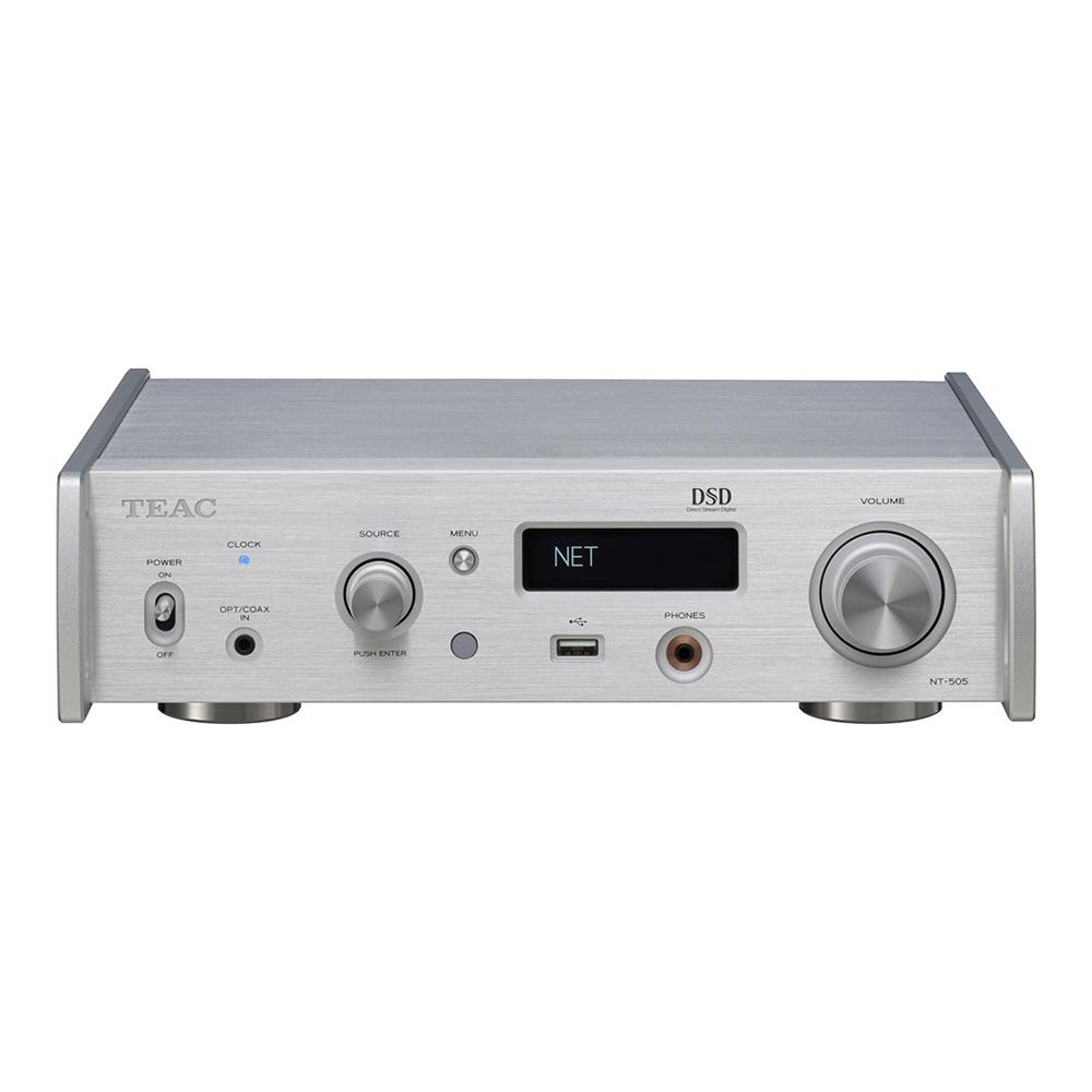 TEAC - NT-505-X(シルバー)(USB DAC・ネットワークプレーヤー)《e》【在庫有り即納】