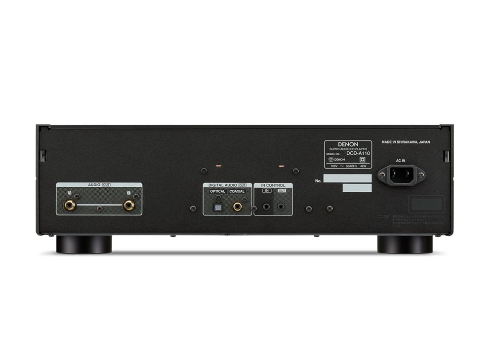 DENON - DCD-A110/グラファイト・シルバー(デノン創立110周年記念モデル・SACD/CDプレーヤー)《e》【2021年1月11日まで AudioQuestケーブルプレゼントキャンペーン実施中】【在庫有り即納】
