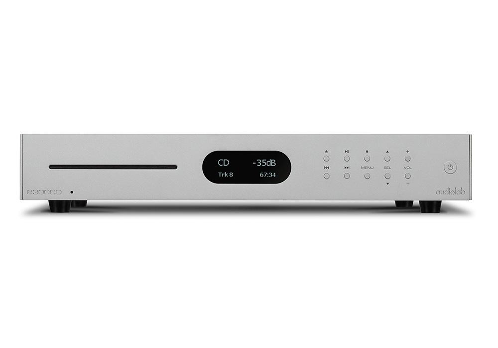 audiolab - 8300CD/シルバー(USB/DAC搭載・CDプレーヤー)《e》【メーカー直送品(代引不可)・納期を確認後、ご連絡いたします】