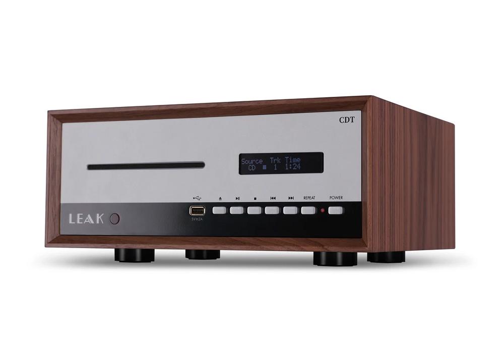 LEAK Audio - CDT(CDトランスポート)(DAC非搭載・CDトランスポート)《e》【メーカー直送品(代引不可)】【メーカー在庫有り即納】