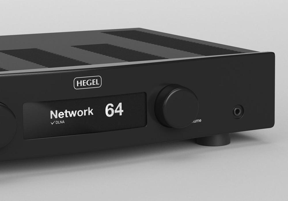 HEGEL - H90/ブラック(ネットワーク・USB/DAC内蔵インテグレーテッドアンプ)《e》【完売】