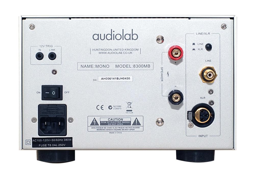 audiolab - 8300MB/シルバー(モノラルパワーアンプ・1台)《e》【在庫有り即納】