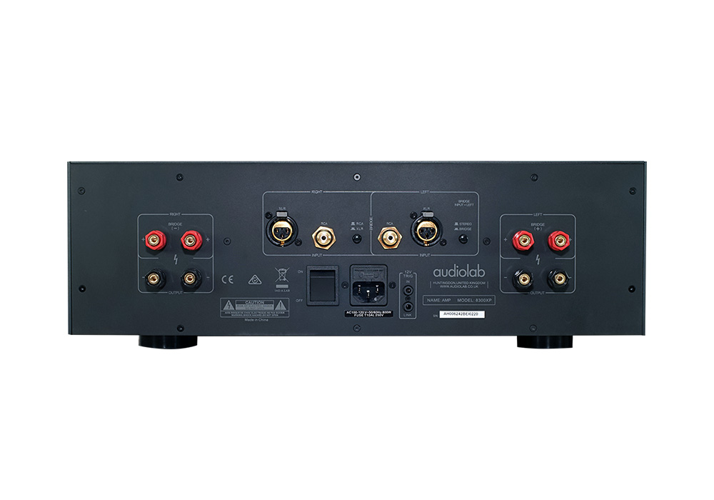 audiolab - 8300XP/シルバー(ステレオパワーアンプ)《e》【在庫有り即納】