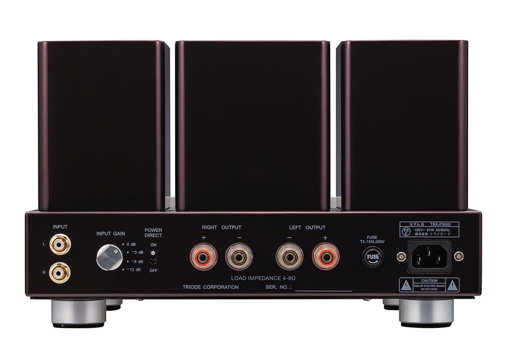 TRIODE - TRX-P300S-WE300B(PSVAN WE300B仕様・真空管ステレオパワーアンプ)《e》【在庫有り即納】