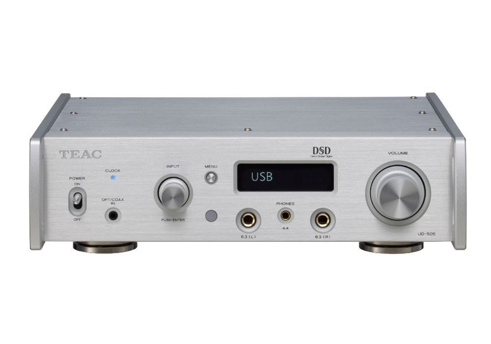 TEAC - UD-505-S/シルバー(USB-DAC内蔵ヘッドホンアンプ)《e》【在庫限り・在庫有り即納】
