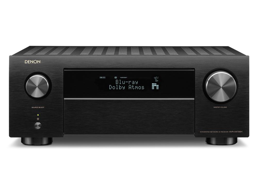 DENON - AVR-X4700H/ブラック(9.2ch AVサラウンドレシーバー)《e》【在庫有り即納】