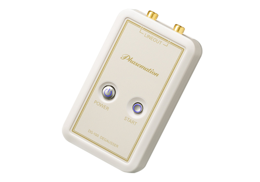Phasemation - DG-100(カートリッジ・昇圧トランス用消磁器)《e》【在庫有り即納】