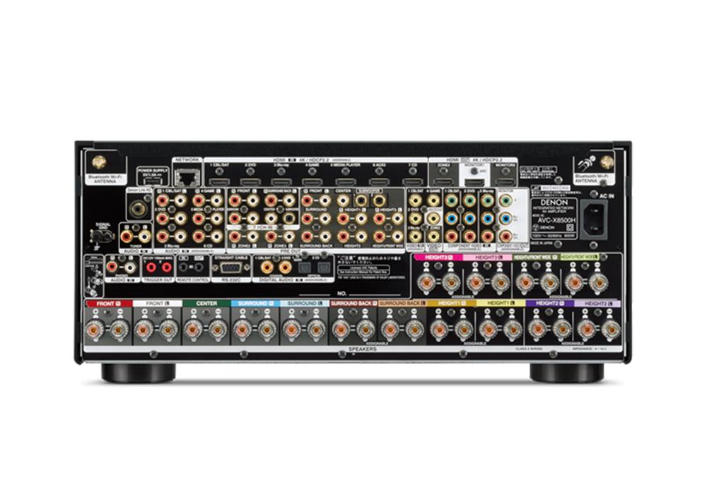 DENON - AVC-X8500H/ブラック(13.2ch AVサラウンドレシーバー)【箱汚れ・箱スレ品(メーカー保証有り)】《e》【在庫有り即納】