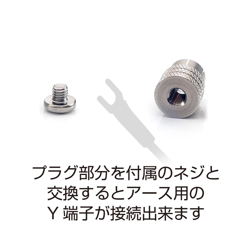 AET - EVO-RPS/2個セット(RCA端子用ショートピン・キャップ)(工業用ステンレス製)《e》【在庫有り即納】