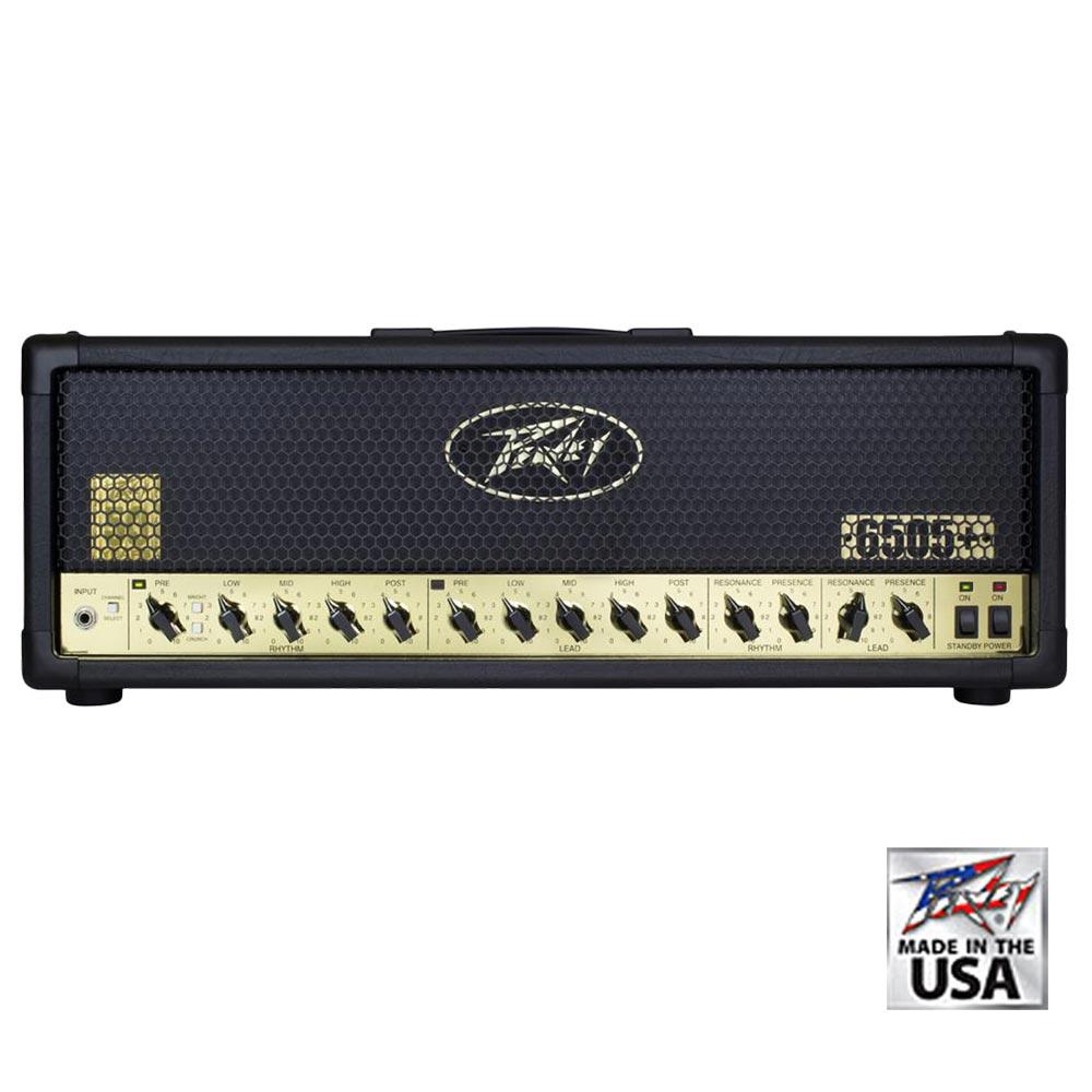 Peavey - 6505+ Head 50th Anniversary Gold 120W(ギターアンプヘッド)(全世界50台限定)《e》【在庫限り・1〜2営業日でお届け可能です※メーカー休業日除く】