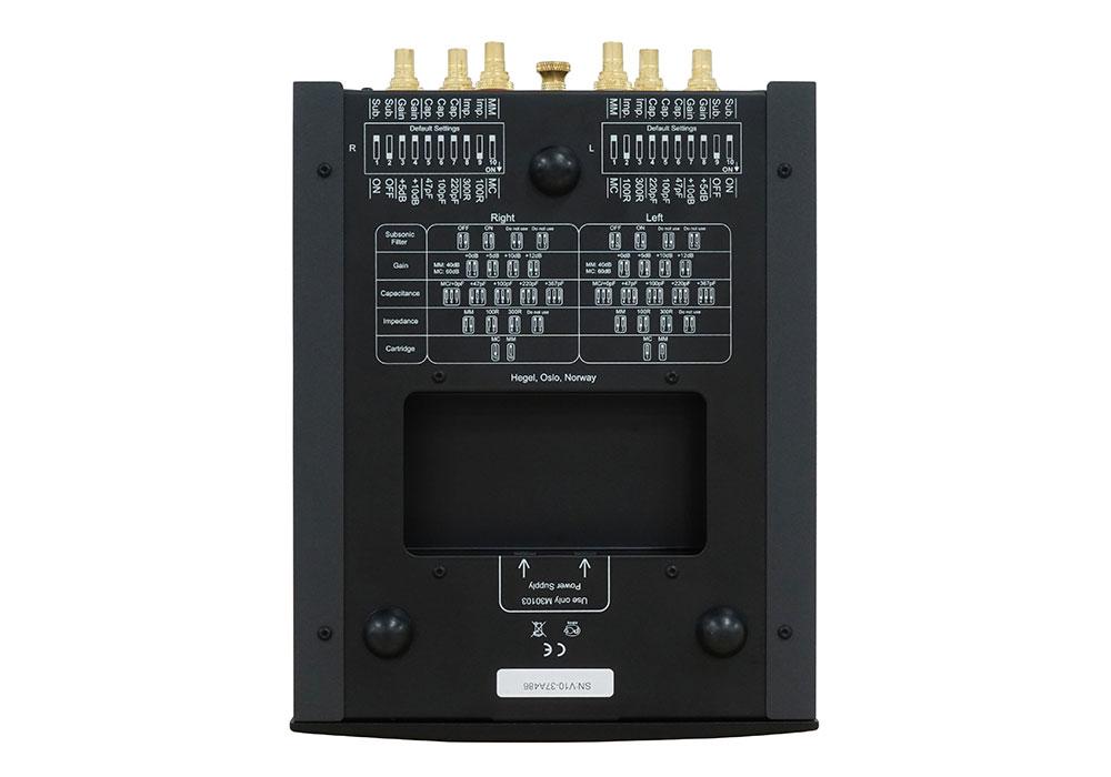 HEGEL - V10/ブラック(MM/MC対応・フォノイコライザーアンプ)《e》【メーカー取寄商品・納期を確認後、ご連絡いたします】