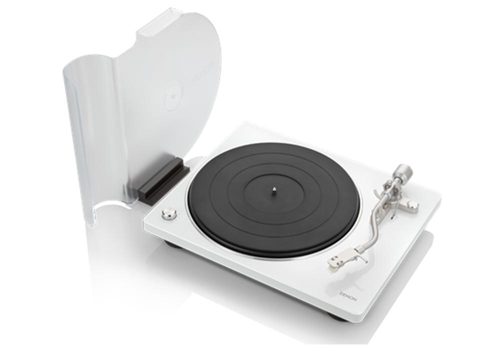 DENON - DP-400/ホワイト (DP400WTEM)(ベルトドライブ方式・レコードプレーヤー)《e》【在庫有り即納】